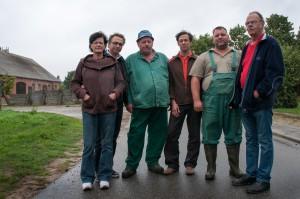 Die Crew vom Ende der Milchstrasse