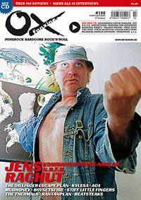 Ox-Magazin Cover Jens Rachut (KOMMANDO SONNE-NMILCH)