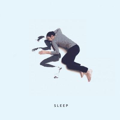 """Plattencover """"Sleep"""" von Andreas Spechtl"""